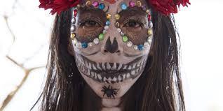 create a dia de los muertos look with this la makeup artist