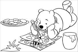 Winnie The Pooh Disegno Da Colorare N 4 Winnie The Pooh Disegno Da