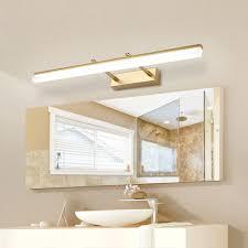 Designer Bathroom Vanity Lighting Us 31 87 25 Off Modern Bathroom Led Vanity Light Wall Lamp Indoor Bedroom Black Silver Gold Mural Mirror Lighting Wall Lamp Sconces Fixtures In Led