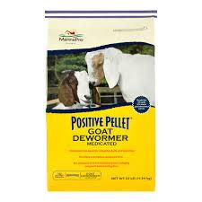Positive Pellet Goat Dewormer Manna Pro
