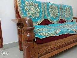3 year old assam teak wood 3 1 1 sofa set made