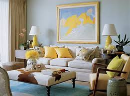 15 Colorful Reasons to Break From the Neutral Sofa. Blue CouchesYellow ...