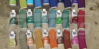 Rit Fabric Dye Color Chart Dyeing Your Sand Pmag From Magpul With Rit Dye Colors The