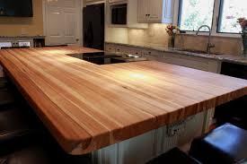 hickory butcher block kitchen island top