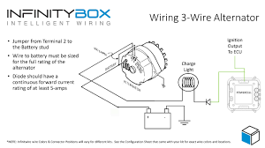 3 wire alternator • infinitybox wiring a charge light