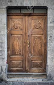 Alte Türen Griffe Schlösser Gitter Und Fenster Ljubljana