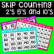 Skip Counting Chart 2s 5s And 10s
