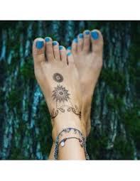 Kruh Svítící Ve Tmě Tribal Nalepovací Tetování Potetujcz