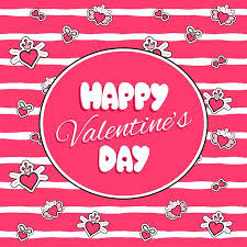 kids valentines day background. Wonderful Kids Happy Valentines Day Print Template Vector For Cards And Banner Pink Kids  Background With Hearts To Kids Day Background Y