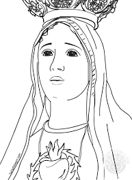 Immagini Madonna Da Colorare Fredrotgans