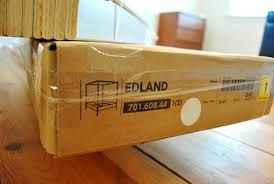 Mister Ed The Bed (Assembling Our Edland Bed From Ikea)