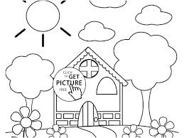 Flower Images Coloring Pages Flower Coloring Pages Printable