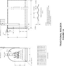 mailbox flag dimensions. Start Printed Page 48711 Mailbox Flag Dimensions C