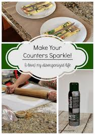 get your kitchen counter tops sparkling clean with rock it oil stone cleaner