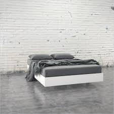 nexera furniture website. Nexera Acapella Full Size Platform Bed In White And Melamine Furniture Website