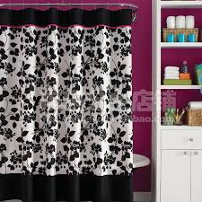 red and black shower curtain set. red and black shower curtain 63 stunning decor with pink curtains set p