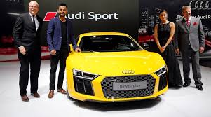 new car launches at auto expoAuto Expo 2016 New Audi R8 V10 Plus launched at Rs 247 crore in