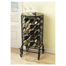 wine rack table. Fox 15 Bottle Floor Wine Rack Table