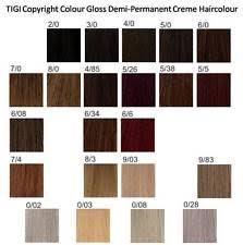 Tigi Color Chart Sbiroregon Org