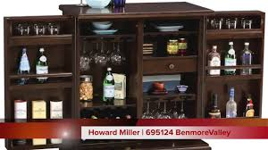 wine and bar cabinet. Howard Miller Expandable Wine And Bar Cabinet | 695124 Benmore Valley - YouTube