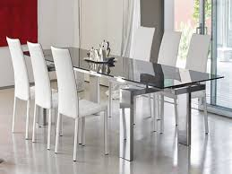 rectangular contemporary dining table contemporary glass table and chairs glass wood dining table sets modern round dining table