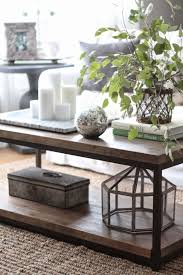 Image Glass Ways To Style Coffee Table With Lots Of Tips And Tricks From Each Look Pinterest Ways To Style Coffee Table My Home Blog Decorating Coffee