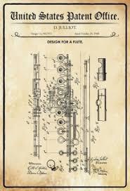 Us Patent Office Design For A Flute Entwurf Für Einen Flöte