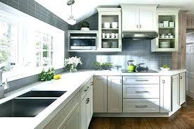white kitchen with grey backsplash decoration dark grey incredible contrasting kitchen white cabinets and pertaining to white kitchen with grey backsplash