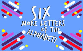there used to be six more letters in the english alphabet