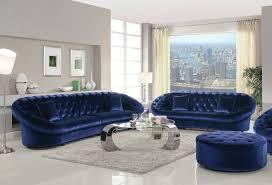 blue velvet sofa freshen the room in your house