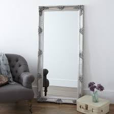 silver floor mirror. Floor Mirrors Silver Mirror