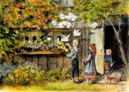 children in garden 4356b 659034356