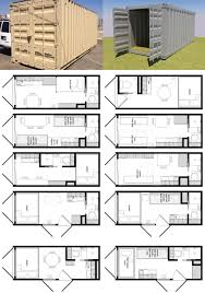 20-Foot Shipping Container Floor Plan Brainstorm   Tiny House Living...You