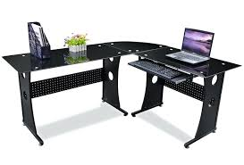 glass l shaped office desk office glass corner desk white l shaped computer desk l desk glass l shaped office desk