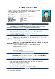 Resume In Word Format | Resume Format And Resume Maker