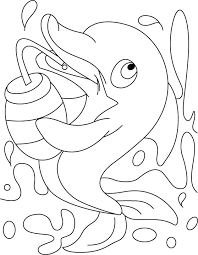 Dolphin Coloring Pages 360coloringpages