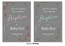 baptism card template baptism vector invitation download free vector art stock graphics
