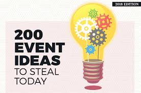 Create A Programme For An Event 200 Event Ideas To Steal Today 2019 Edition