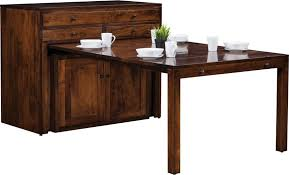 Amish Century Buffet with Pullout Dining Table