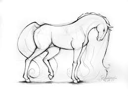 horses drawings. Modren Horses Horse By Ladowska  And Horses Drawings E