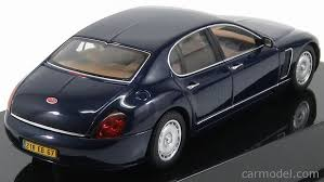 Eb 218 is the designation of the second prototype launched by bugatti after volkswagen acquired the marque. Autoart 50931 Scale 1 43 Bugatti Eb218 Genf 1999 Blue