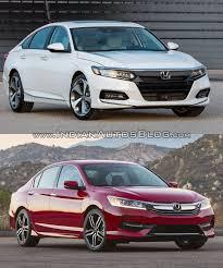 2018 honda accord design. plain 2018 2018 honda accord vs 2016 front three quarters and honda accord design