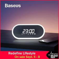 <b>Baseus</b> ночник Bluetooth динамик с функцией будильника ...