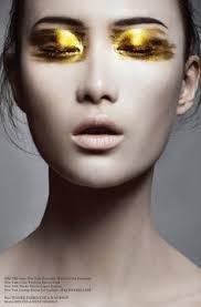 gold dust by carole kids makeup makeup art beauty makeup geisha makeup