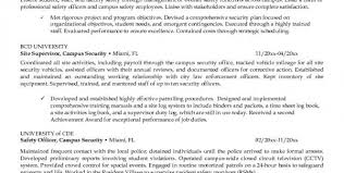 Information Security Resume Objective Cyber Security Resume Security