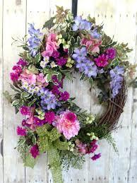 front door wreaths for summerFront Doors  Spring Summer Outdoor Indoor Wreath For Front Door
