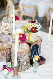 Hochzeitsdeko Kleiner Tisch Holz Selber Machen Hochzeit Basteln And Deko On Pinterest