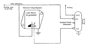 external voltage regulator wiring diagram & \