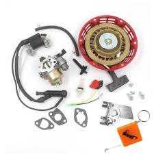 get quotations huri carburetor with recoil starter ignition coil for harbor freight predator 212cc 6 5hp 5 5hp