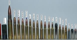Rifle Bullet Size Chart Comparison 78 Veracious Ammo Chart